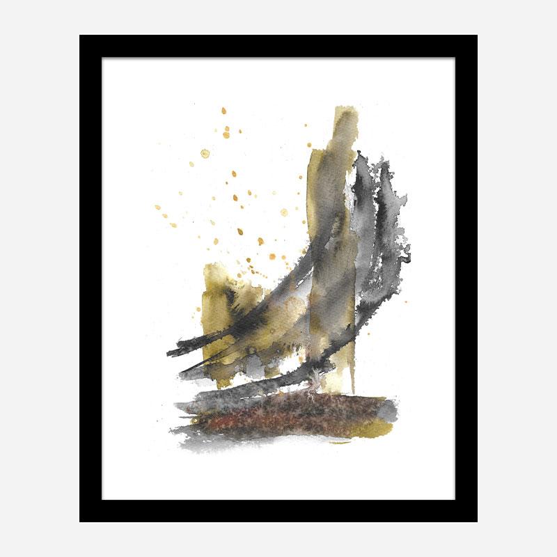 Shoreline Abstract Art Print