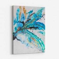 Overjoyed Abstract Art Print