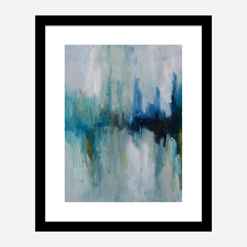 Over There 1 Abstract Art Print