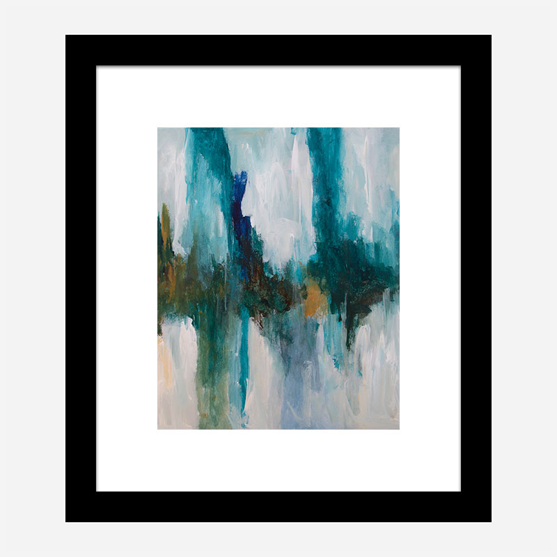 Over There 2 Abstract Art Print