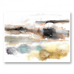 Dusty Night Abstract Art Print