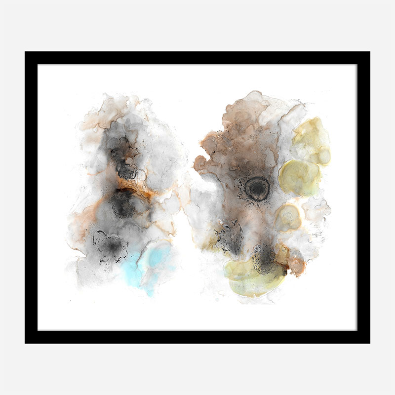 Butterfly Abstract Art Print