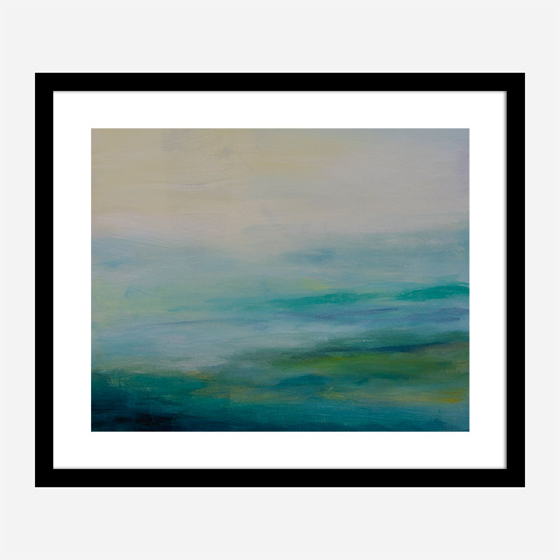 Looking Out Abstract Art Print