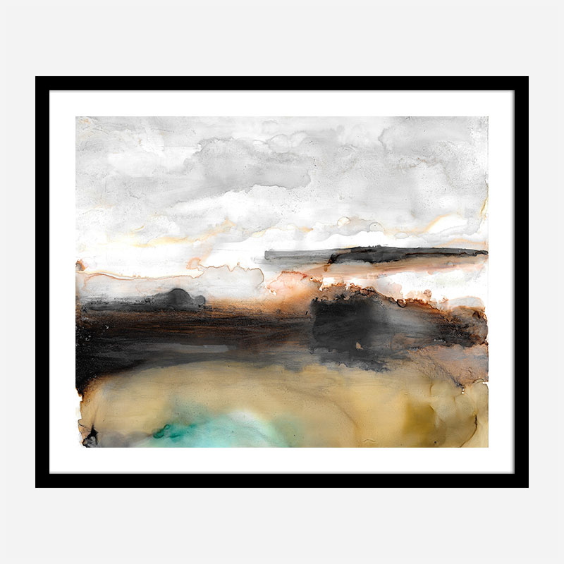 Sandstorm Abstract Art Print