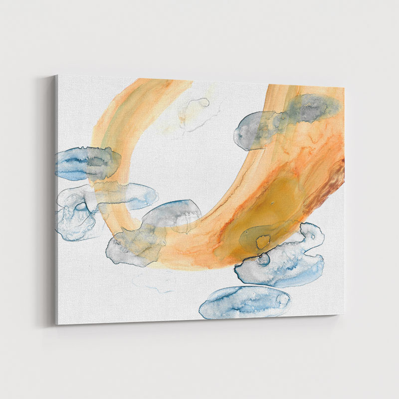Sun on Water Abstract Art Print