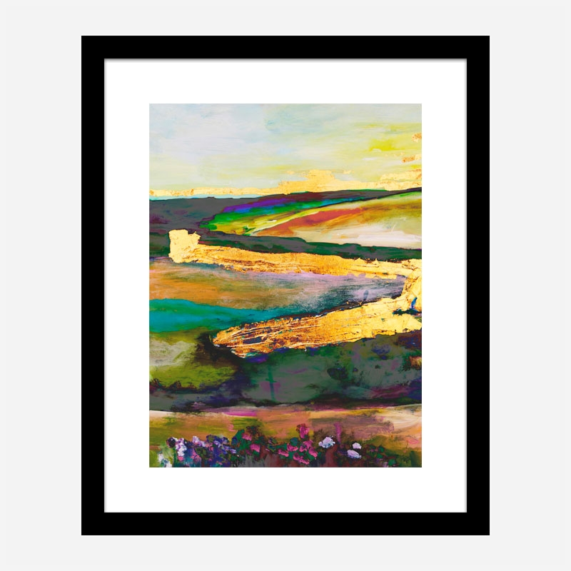 Gold River 5 Art Print