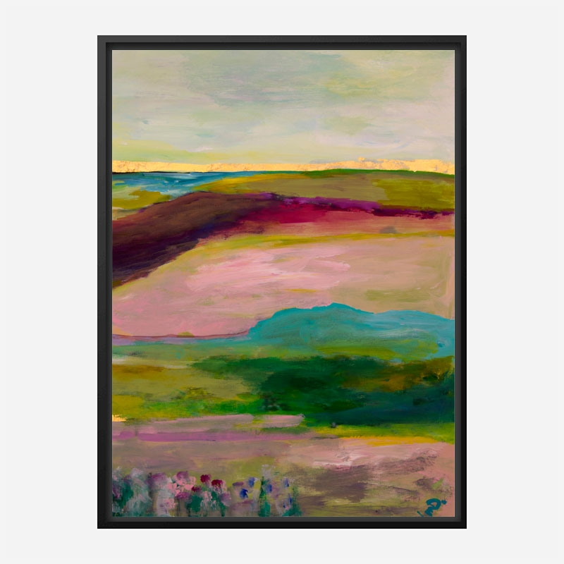 Gold Horizon Art Print