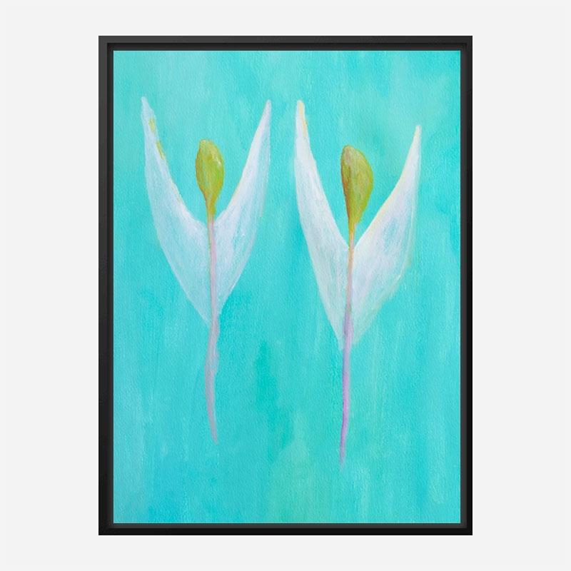 Angels 1 Art Print