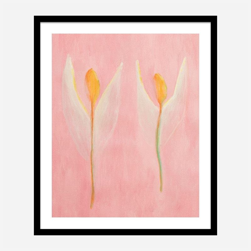 Angels 2 Art Print