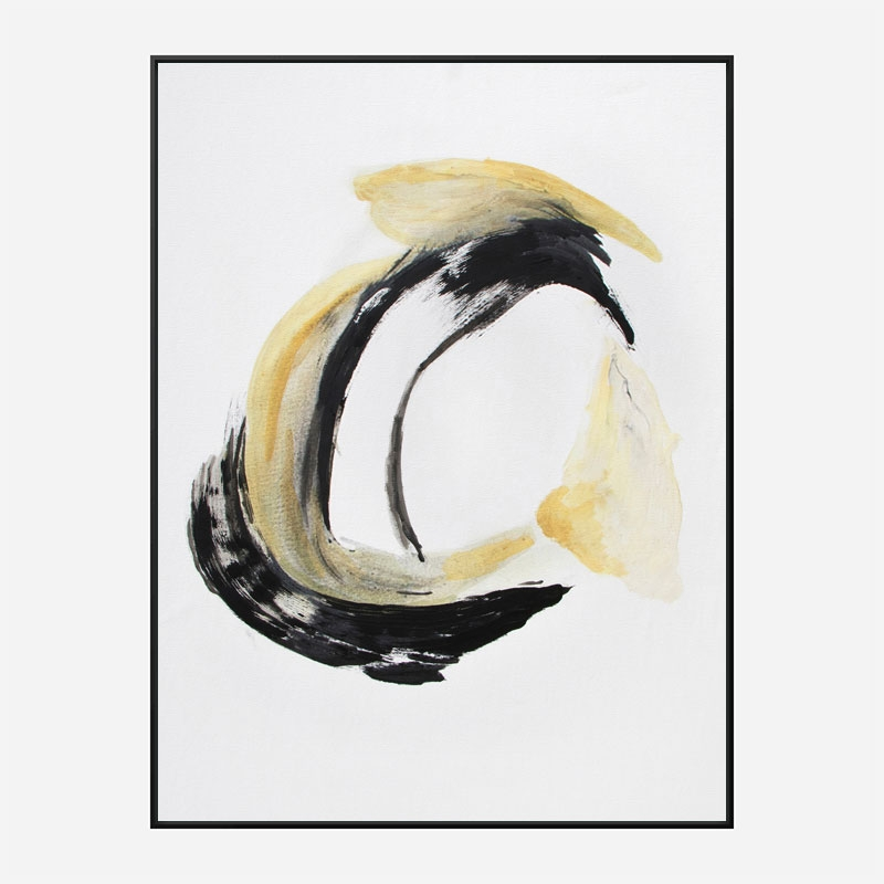 Abstract Circle 2 Art Print