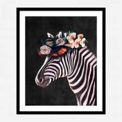 Flower Lion Art Print
