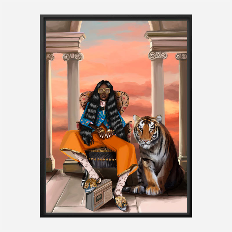Gucci Pleasure Art Print