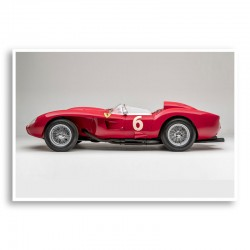 Ferrari 250 Testa Rossa in Red Wall Art