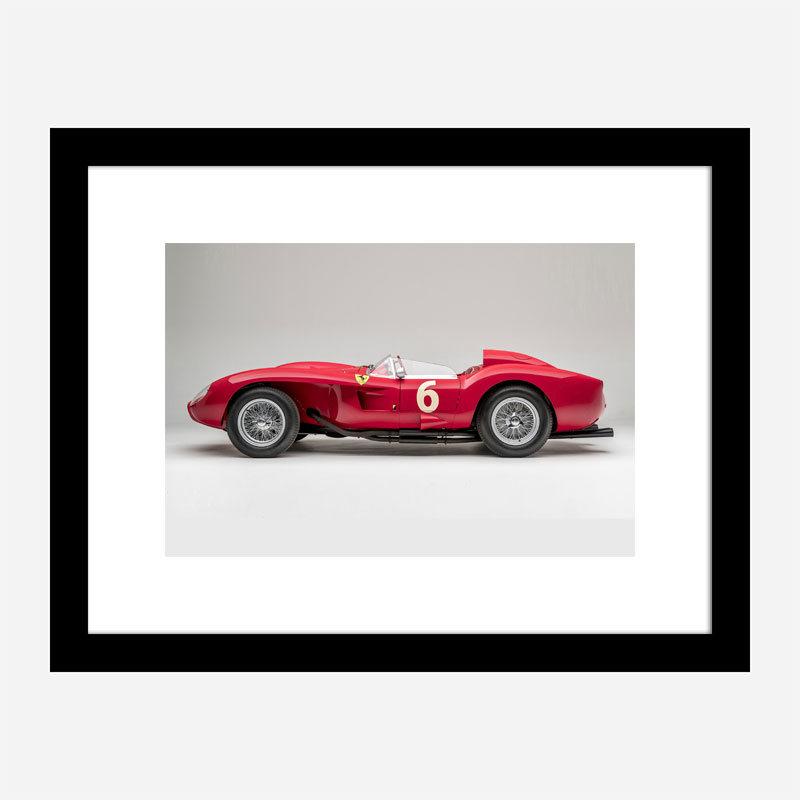 Ferrari 250 Testa Rossa in Red Wall Art