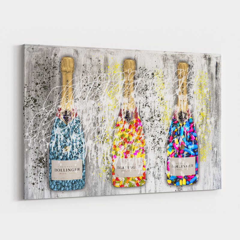 Champagne Sweets Wall Art