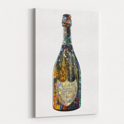 Dom Perignon Champagne Splash Wall Art