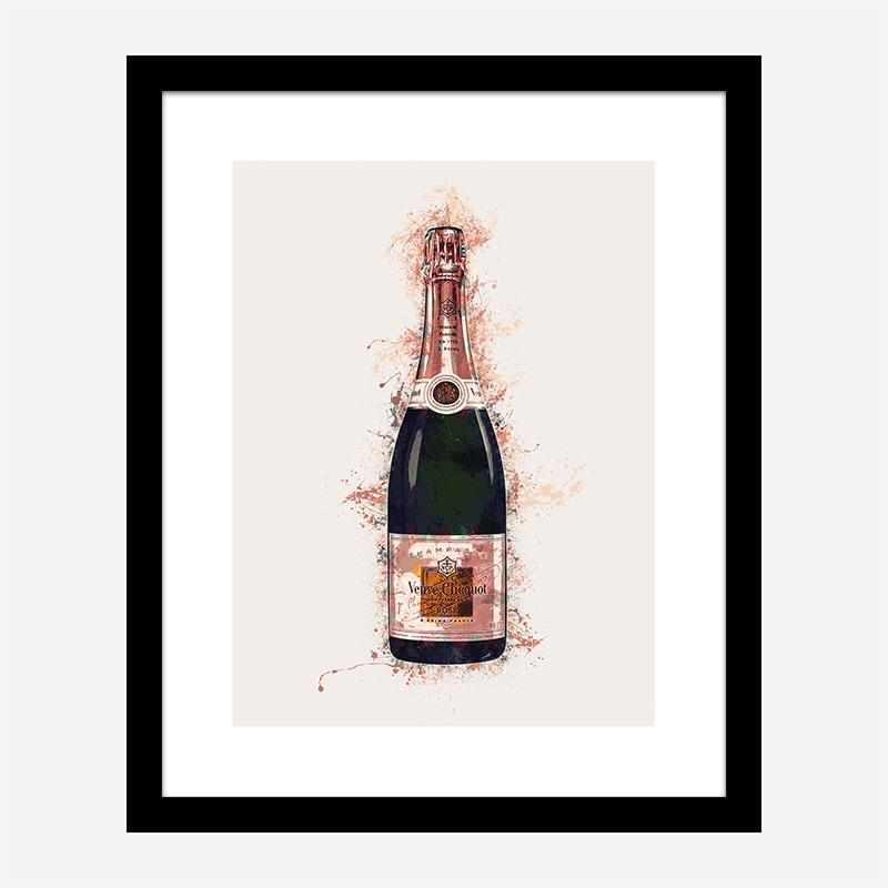 Veuve Clicquot Champagne Art Print