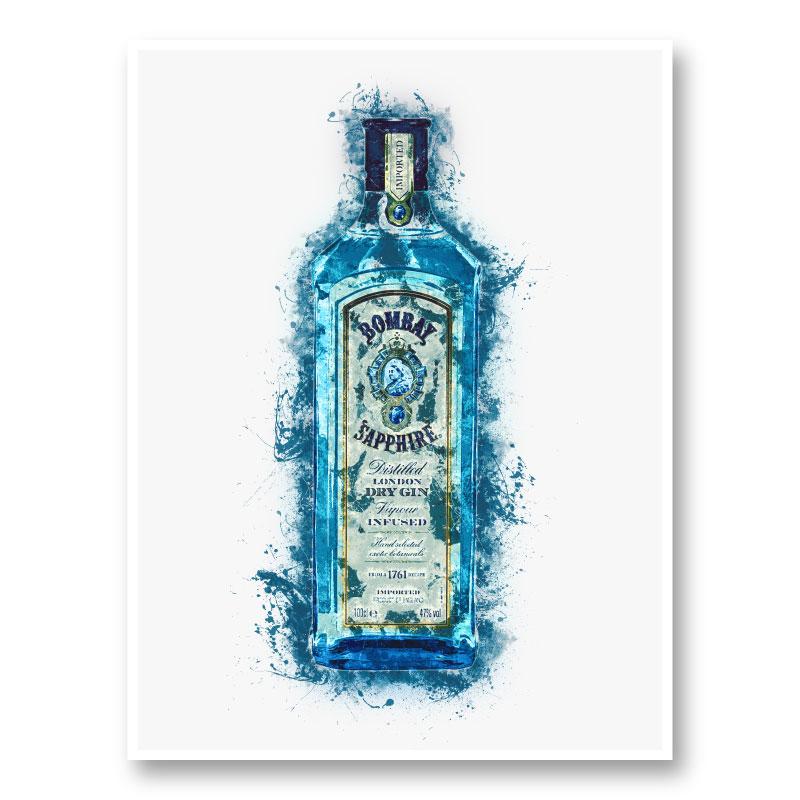 Sapphire Blue Art Print