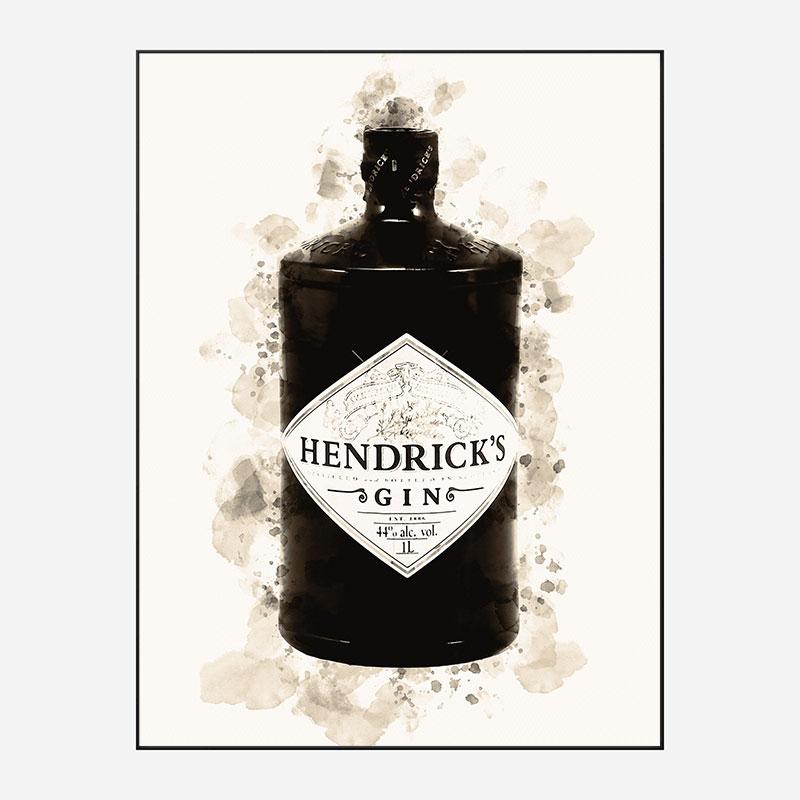 Hendrick's  Gin Art Print