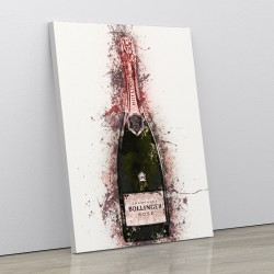 Bollinger Splash Art Print