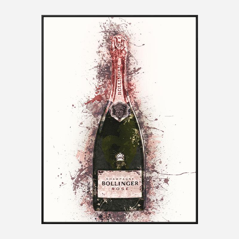 Bollinger Splash Art Print
