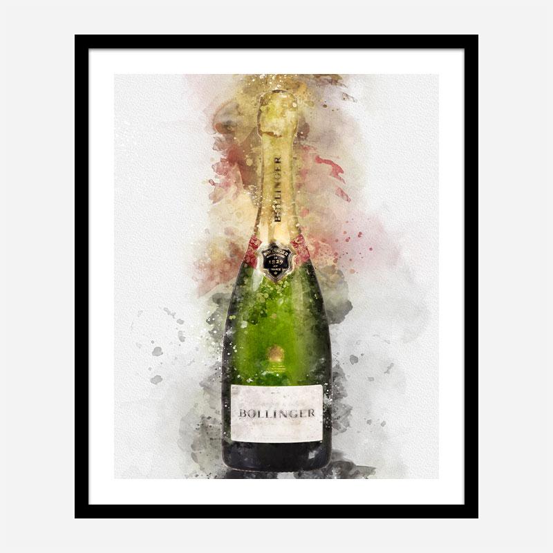 Bollinger Champagne Art Print