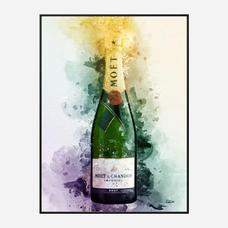 Moet & Chandon Imperial Brut Champagne Art Print