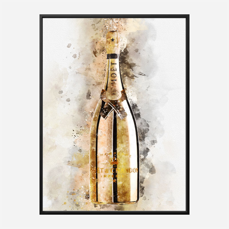 Moet & Chandon Golden Edition Champagne Art Print