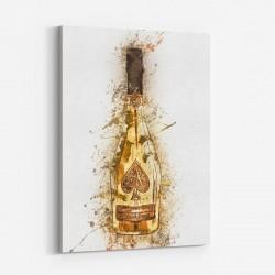Ace Of Spades Brut Gold Champagne Art Print