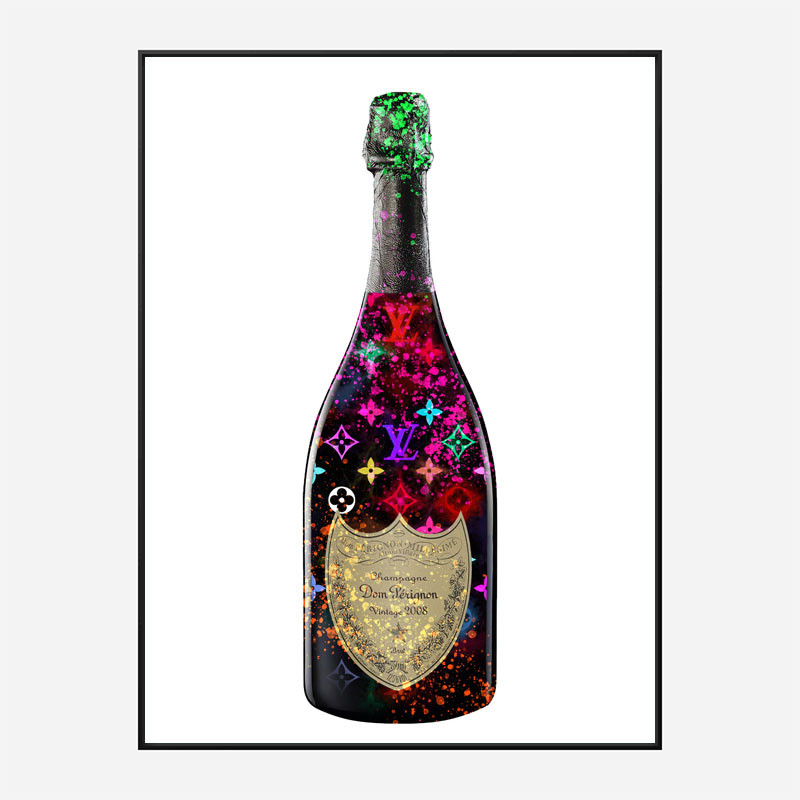 DP Louie V Champagne Art Print