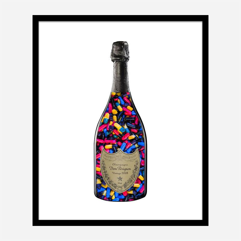 DP Pills Champagne Art Print