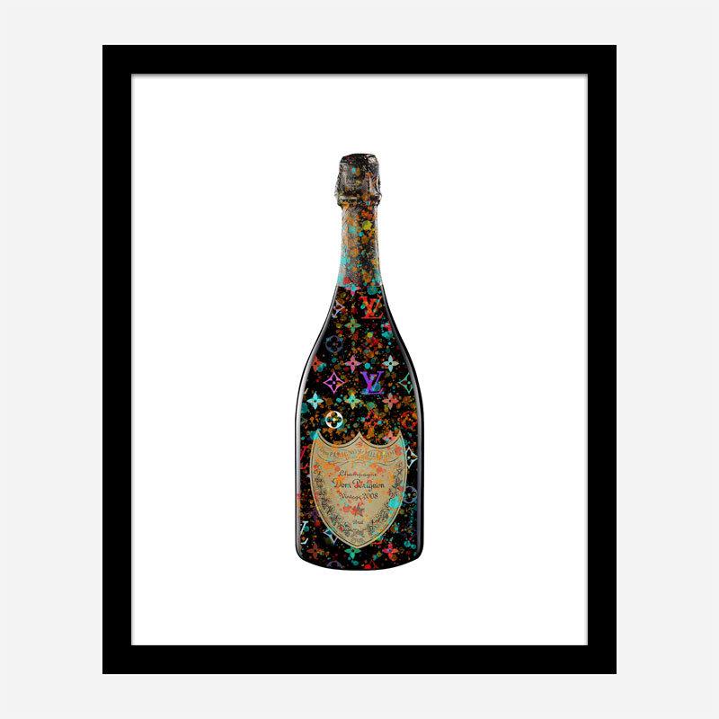 DP LV Splatter Champagne Art Print