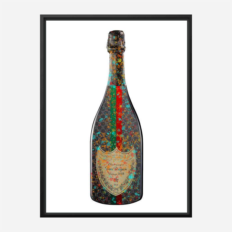 DP Gucci Splatter Champagne Art Print