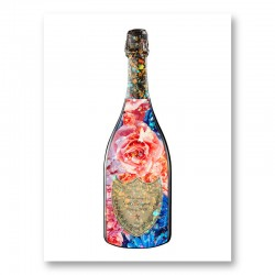 DP Flowers Champagne Art Print