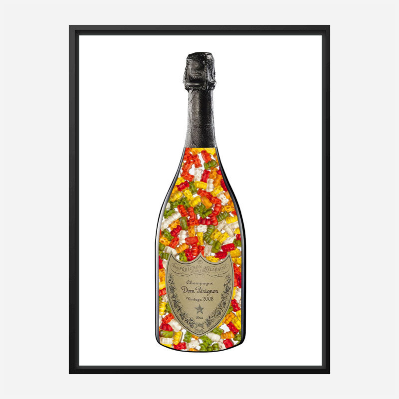 DP Gummy Bears Champagne Art Print