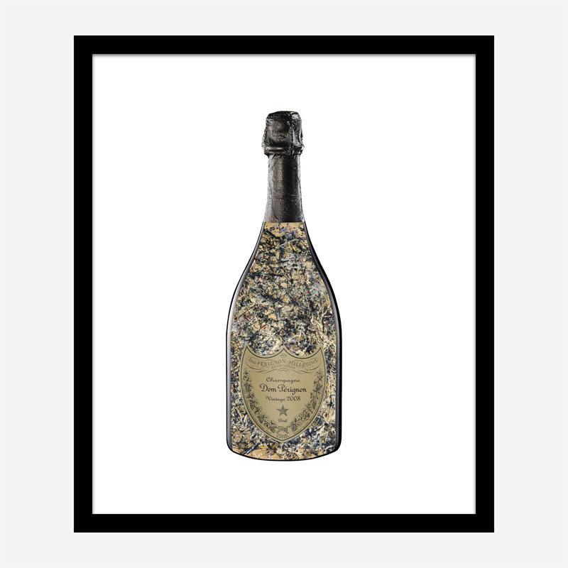 DP Pollock Champagne Art Print
