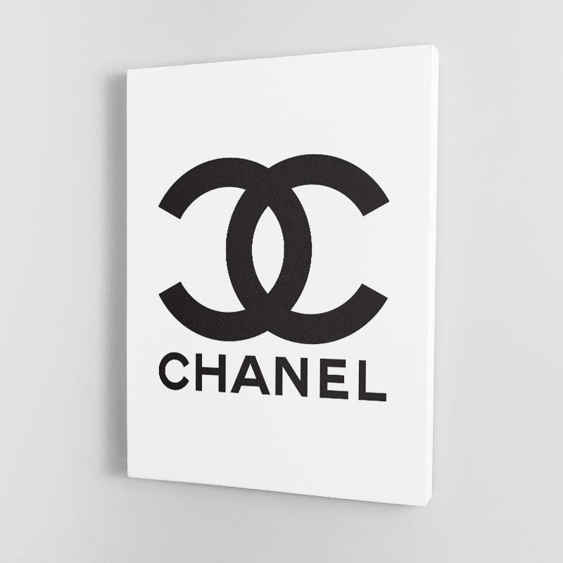 Chanel Logo Wall Art