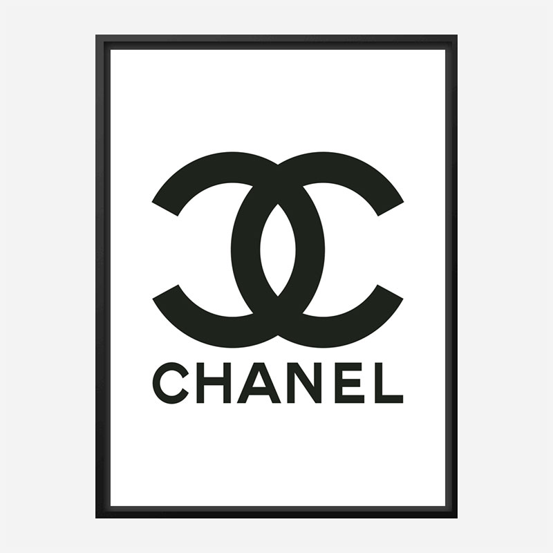Chanel Logo Wall Art