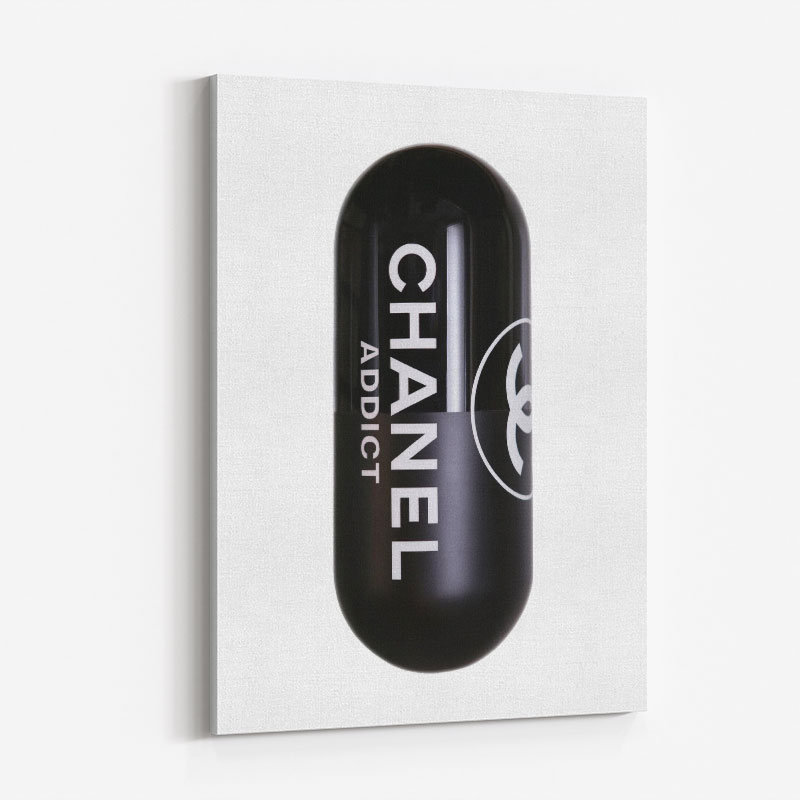Chanel Addict Pill Art Print