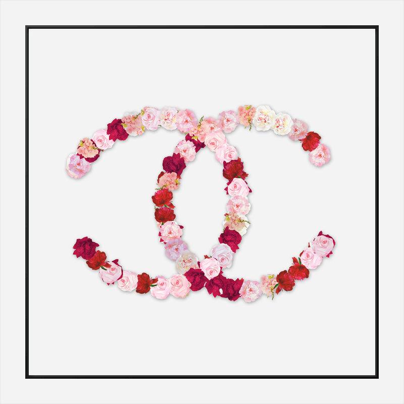 Chanel Flowers Wall Art Print