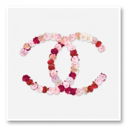 Chanel Flowers Wall Art Print