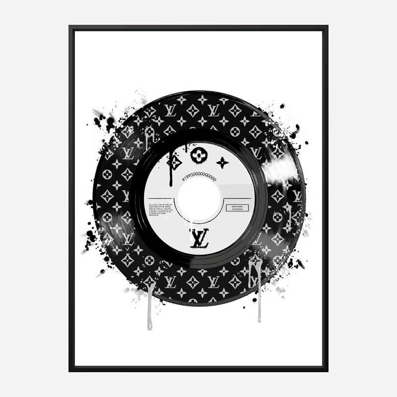 LV Record Art Print