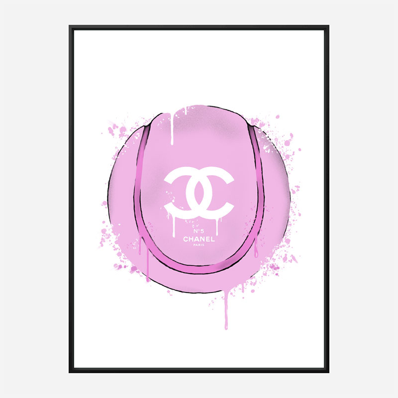 Gucci Pink Tennis Ball Art Print