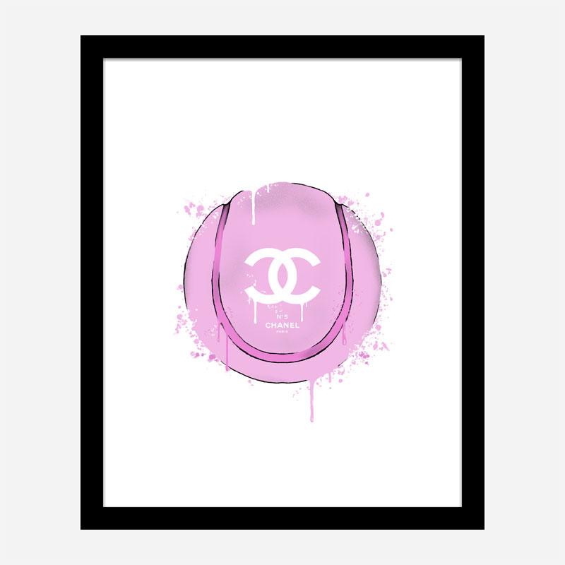 Gucci Pink Tennis Ball Art Print