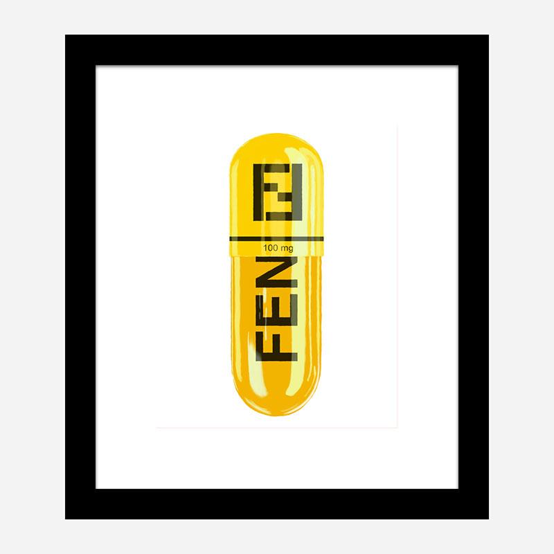 Fendi 100mg Art Print
