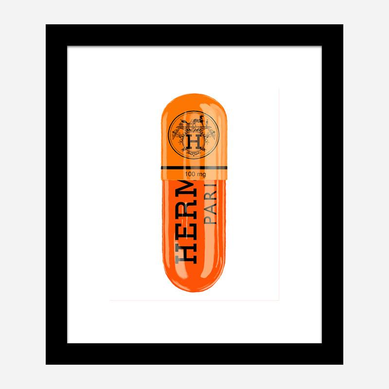 Hermes 100mg Art Print