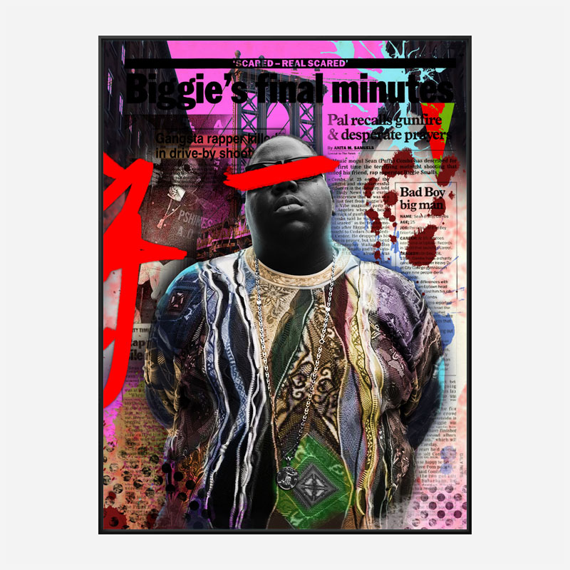 Biggie Smalls Art Print