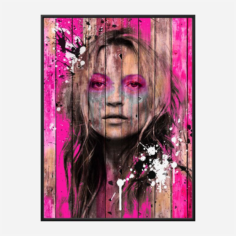 Kate Moss Art Print