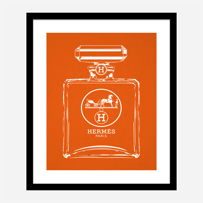 Hermes Perfume Bottle Art Print