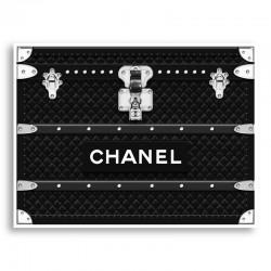 Chanel Trunk Art Print